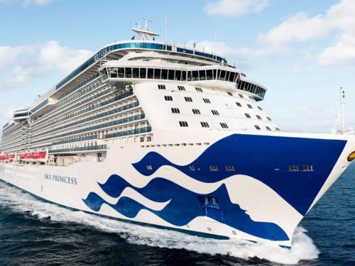 Découvrez le Sky Princess, nouveau navire de Princess Cruises