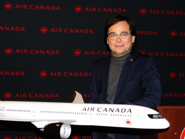Robert Trudeau : le nouveau Capitaine Québec d'Air Canada