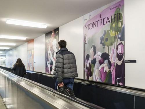 Le Montréaler prend vie à l'aéroport de Montréal-Trudeau