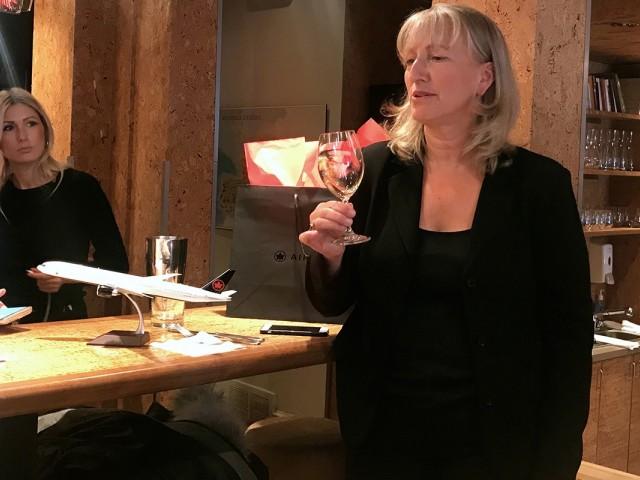 Véronique Rivest, la passion du vin au service d'Air Canada