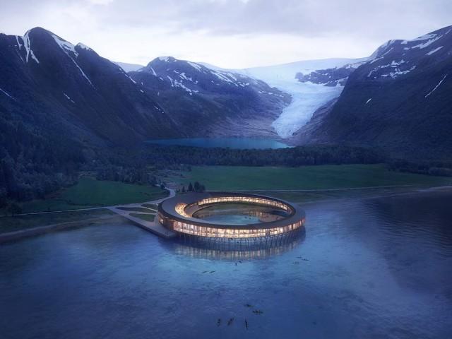 L'hôtel du futur : à 360 degrés dans le cercle polaire arctique