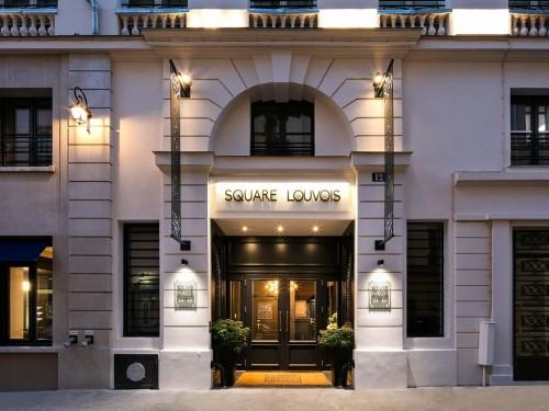 Hôtel Square Louvois : le chic parisien au service de la grande littérature