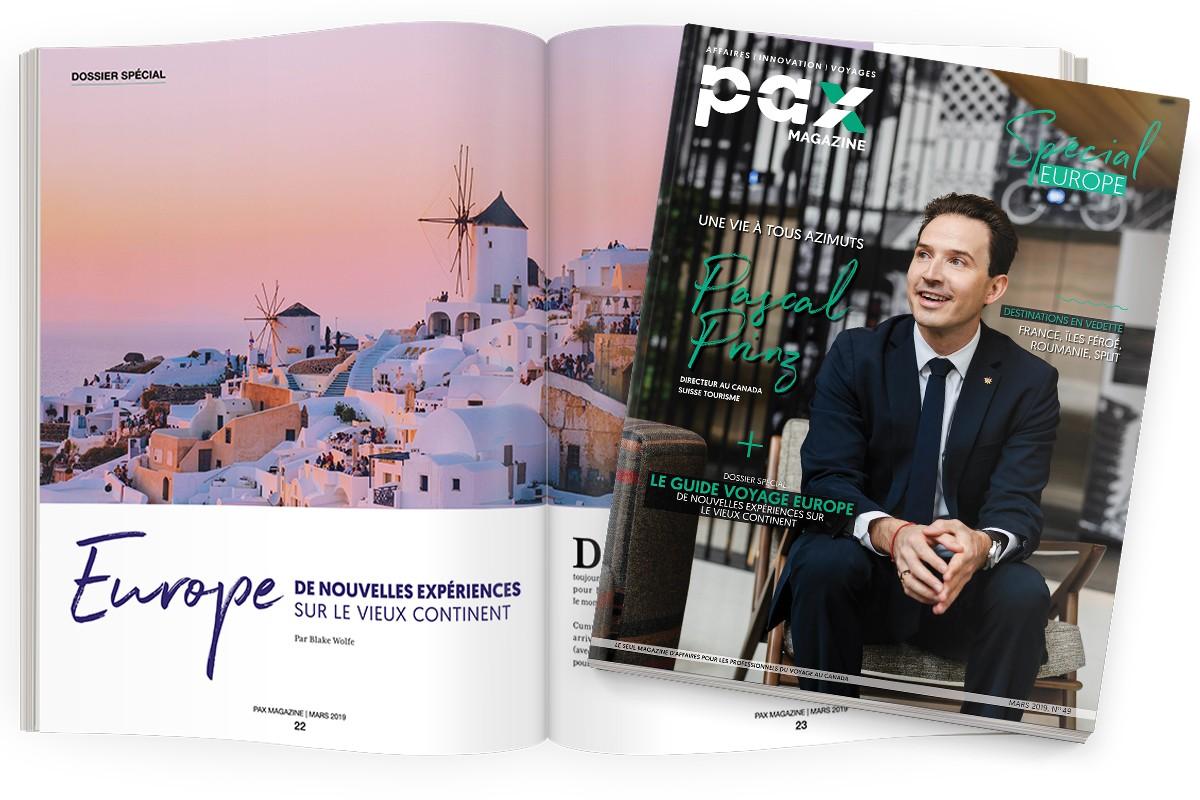 L'édition de mars 2019 de PAX magazine est maintenant disponible! ; 9 questions à Roxanne Auger-Hamelin