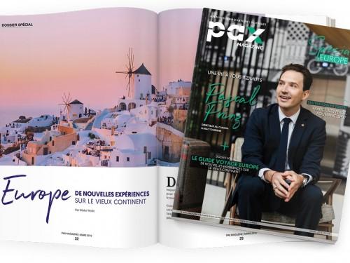L'édition de mars 2019 de PAX magazine est maintenant disponible!