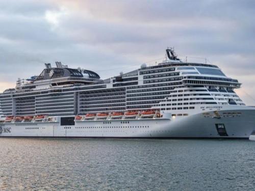 Le Bellissima de MSC Cruises prend la mer