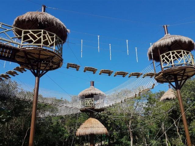 Nouveau : un parc d'attraction dans un hôtel de la Riviera Maya