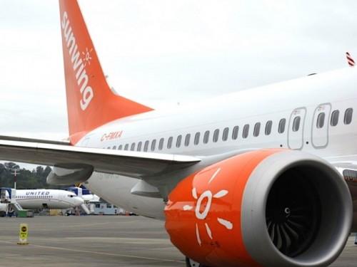 Sunwing suspend temporairement les opérations de Boeing 737 MAX 8