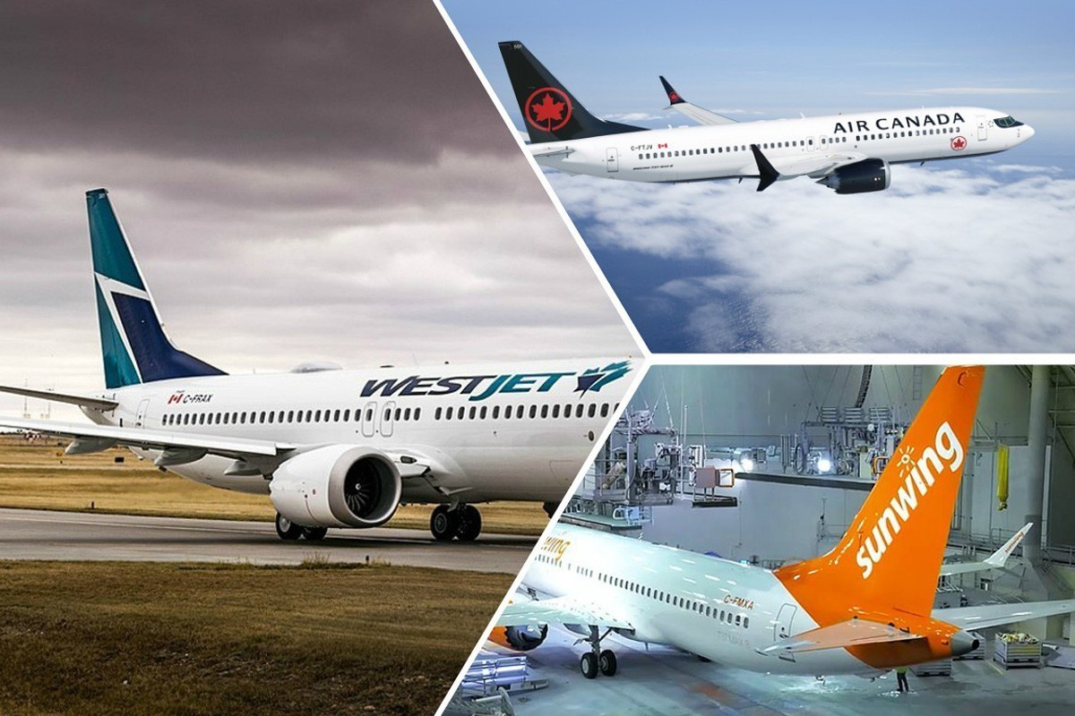 Boeing 737 MAX cloués au sol: WestJet, Air Canada et Sunwing réagissent