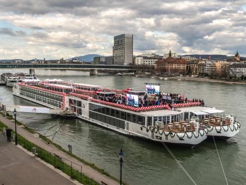 Viking ajoute 7 navires fluviaux à sa flotte européenne