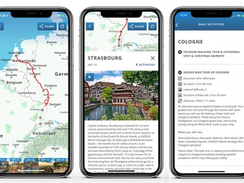 AmaWaterways lance une nouvelle application mobile