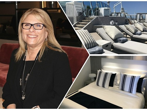Lisa Lutoff-Perlo de Celebrity Cruises présente les nouveautés du Summit