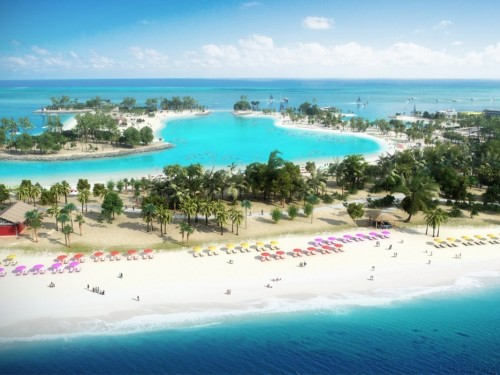 Ocean Cay : future réserve marine et île privée de MSC Cruises