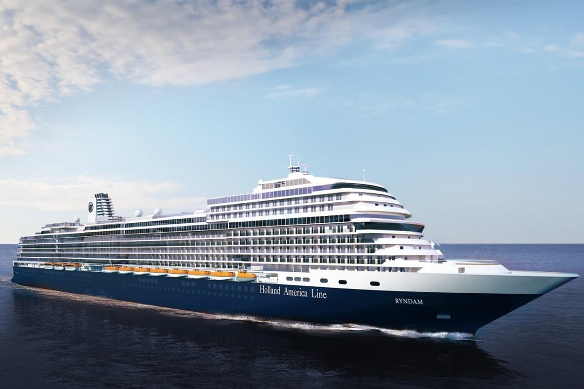 Et le nom du nouveau navire d'Holland America Line est...