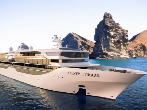 PHOTOS : Silversea fait ses débuts au Galapagos avec un navire construit sur mesure