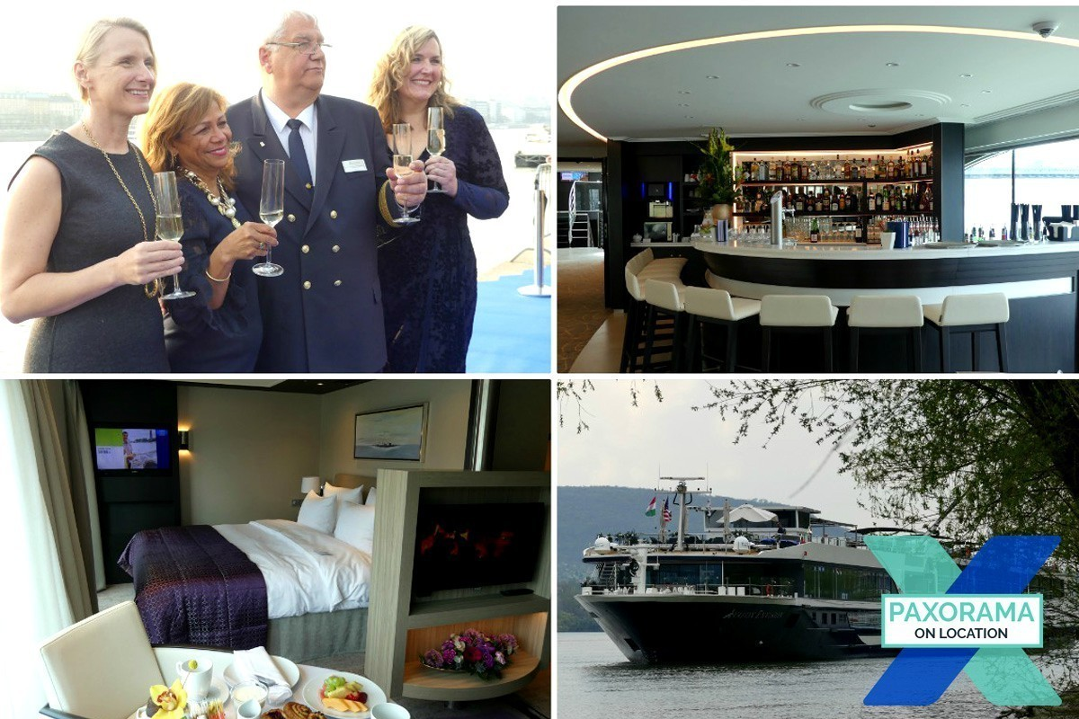 PAX à destination : Avalon Envision baptisé à Budapest