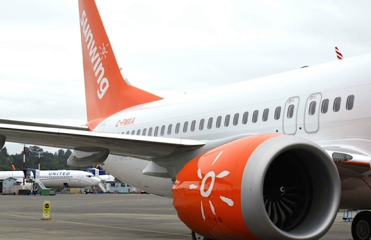 Sunwing continue de s'adapter à l'incident des Boeing 737 MAX 8