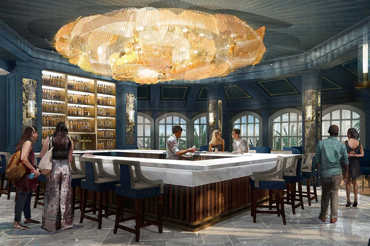 Un nouveau bar lounge « La Belle et la Bête » dans un hôtel de Disney World