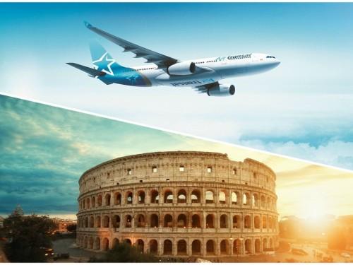 Air Transat présente sa promotion L'Europe en Solde