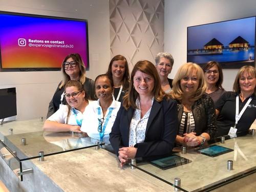 eX par Voyages Transat : TDC lance un nouveau concept d'agence à Brossard
