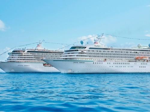 Les réservations pour la croisière mondiale 2022 de Crystal Cruises sont ouvertes
