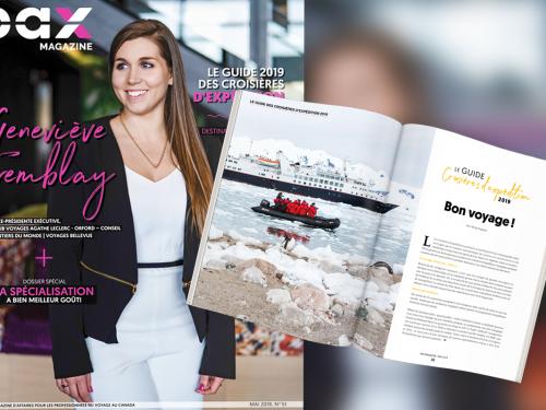 L'édition de mai 2019 de PAX magazine est maintenant disponible!