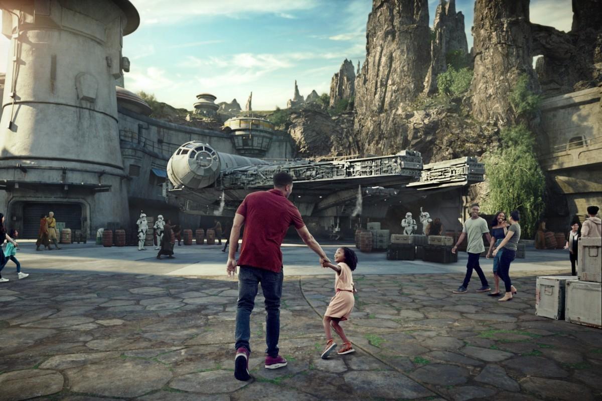 De nouvelles images du nouveau parc Star Wars de Disney ont fuité !