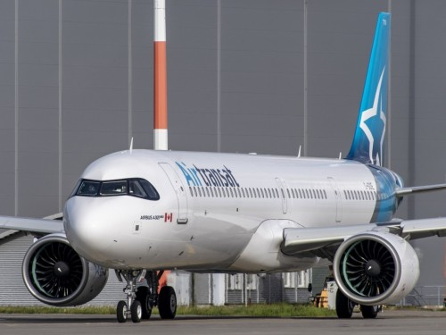 Air Transat amorce le renouvellement de sa flotte avec de nouveaux Airbus