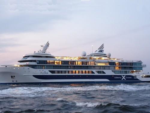Découvrez le Flora, nouveau navire de Celebrity