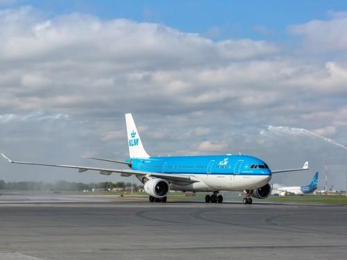 KLM célèbre ses 70 ans de présence au Canada