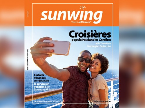 Sunwing lance sa brochure croisière 2019-2020