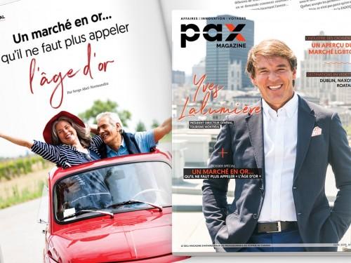 L'édition de juin 2019 de PAX magazine est maintenant disponible!