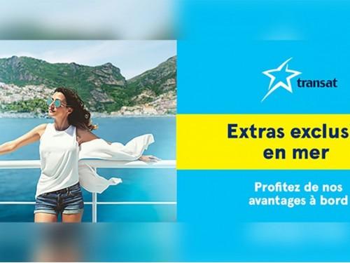 Transat : des exclusivités en mer cet été