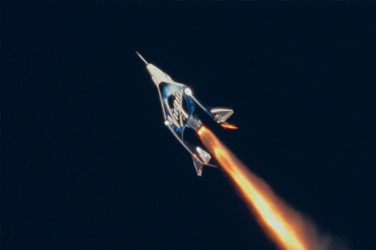 Virgin Galactic réussit son vol spatial