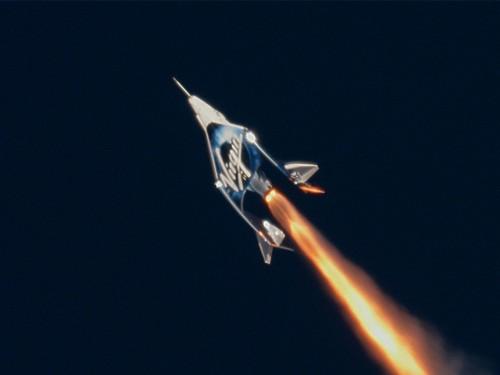 Virgin Galactic réussit son vol spatial
