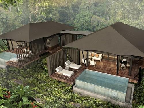 PHOTOS : Une expérience de camping en tente de luxe au Costa Rica