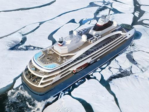 PHOTOS: PONANT ouvre les ventes pour son navire Commandant-Charcot