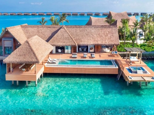 PHOTOS: Waldorf Astoria Maldives Ithaafushi ouvrira ses portes cette année