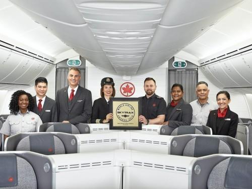 Skytrax désigne Air Canada meilleure compagnie aérienne en Amérique du Nord