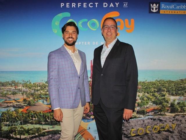 Eric St-Pierre et Christopher Jeffrey-Racine deviennent «ambassadeurs» de Silversea