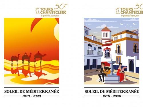 Tours Chanteclerc : nouvelle brochure Soleil de Méditerranée 2019-2020
