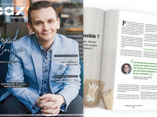 L'édition de juillet/août 2019 de PAX magazine est maintenant disponible!