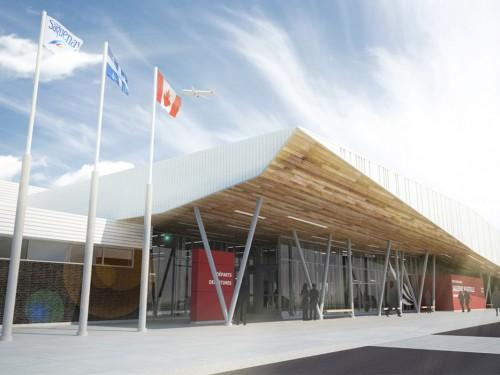 6,2 M$ pour moderniser l'aéroport de Saguenay-Bagotville