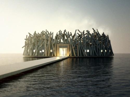 PHOTOS: Un hôtel spa flottant va ouvrir ses portes cette année