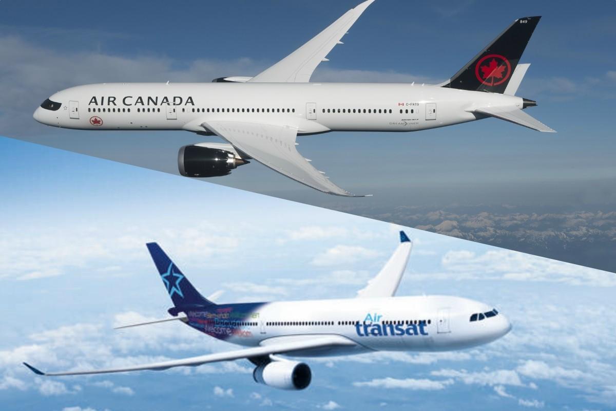 De grands acteurs de l'économie encensent Air Canada et Transat ; 9 questions à Sylvie Deschamps