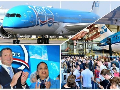 PAX à destination: KLM accueille le Dreamliner... en attendant son 100e anniversaire
