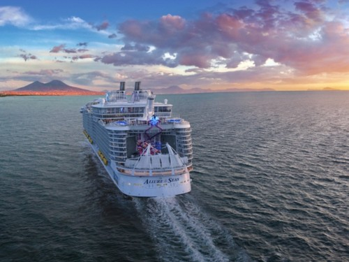 PHOTOS: cure de modernisation pour l'Allure of the Seas de RCI