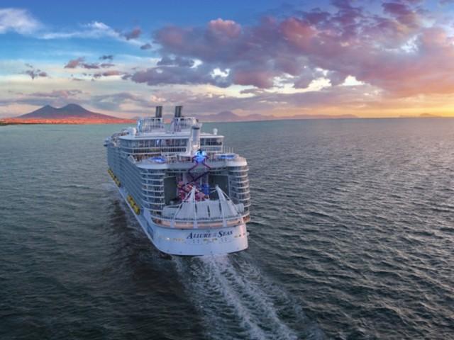 PHOTOS: cure de modernisation pour l'Allure of the Seas de RCI