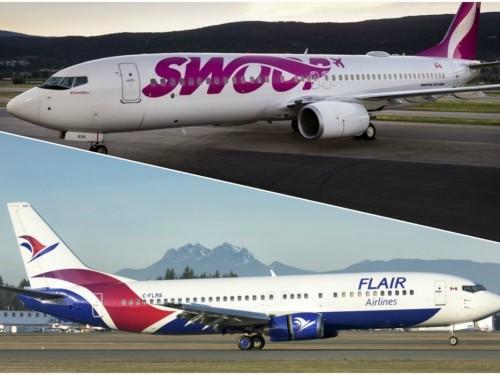 Boeing MAX 8 : les compagnies aériennes à bas coûts canadiennes demeurent confiantes