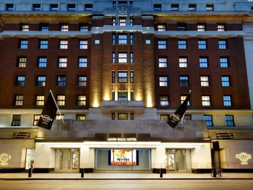 L'hôtel britannique de Hard Rock ouvre ses portes à Londres