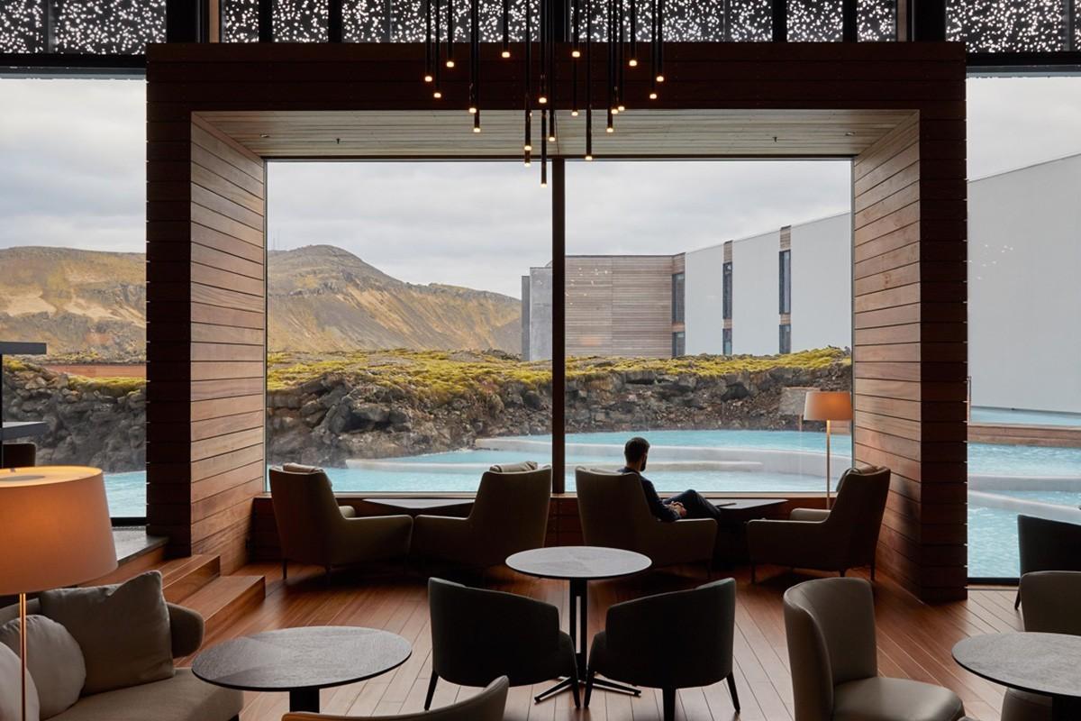 PHOTOS: The Retreat, hôtel 5 étoiles, les pieds dans les eaux chaudes de l'Islande